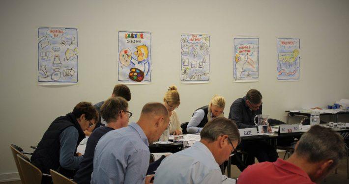 Skriv Flot, tegnekursus, grafisk kursus, grafisk facilitering