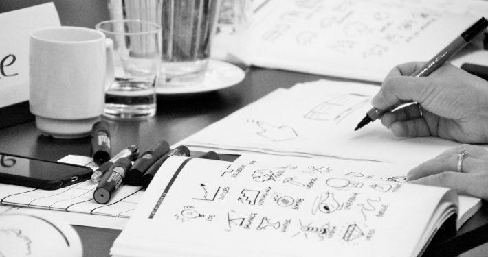 grafisk facilitering, skriv flot, tegne kursus