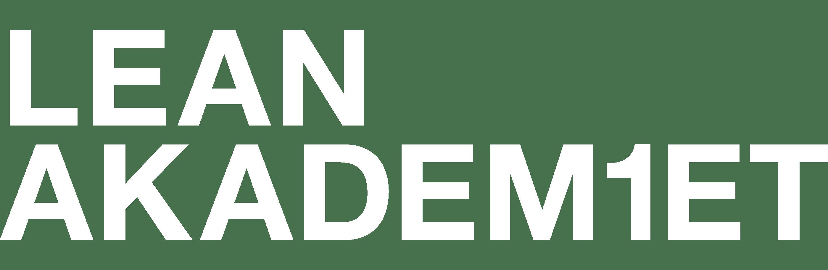 Lean Akademiet, Lean kursus, Lean konsulent, Lean uddannelse