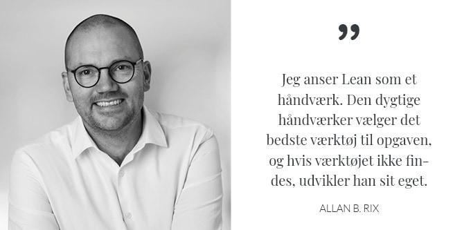 Allan B. Rix profil